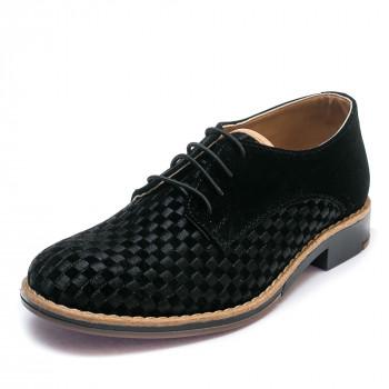 Туфли Sibel Bebe 3531-2 чёрная замша (31-35)