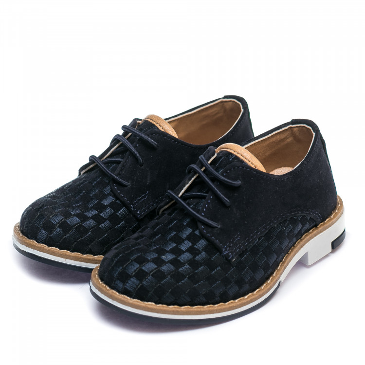 Туфли Sibel Bebe 3522-1 синяя замша (21-25)