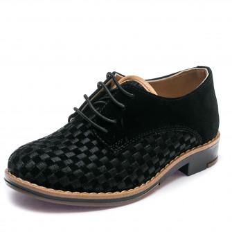 Туфли Sibel Bebe 3526-2 чёрная замша (26-30)
