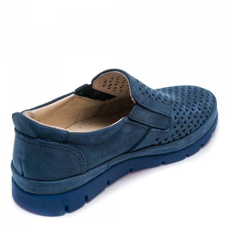 Туфли DALTON LTO521(10)(31-36)голуб.зам.