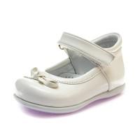 Туфли Sibel Bebe 119 бел лак (19-21)