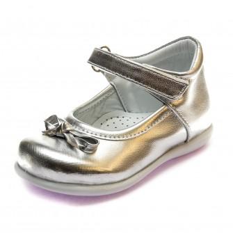 Туфли Sibel Bebe 122 сер кожа (22-25)