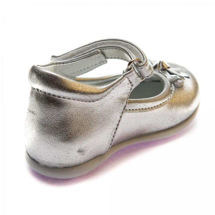 Туфли Sibel Bebe 119 сер кожа (19-21)