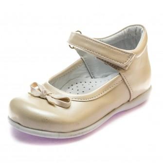 Туфли Sibel Bebe 122 беж кожа (22-25)
