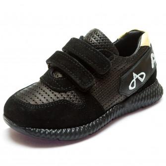 Кроссовки AlilA чёрные для мальчика