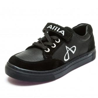 Кеды AlilA 999-1(31-36)черные