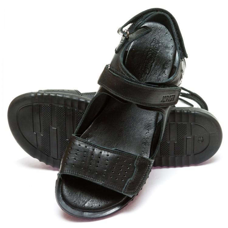 Босоножки K.Pafi 500779(132)(37-40)черная кожа