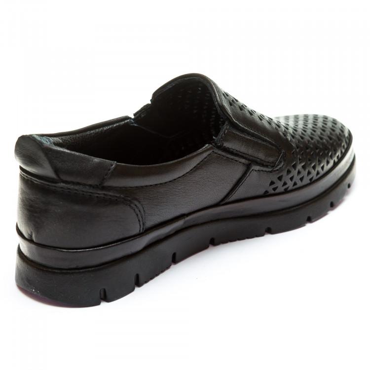 Туфли DALTON LTO521(01)(31-36)чер.кожа