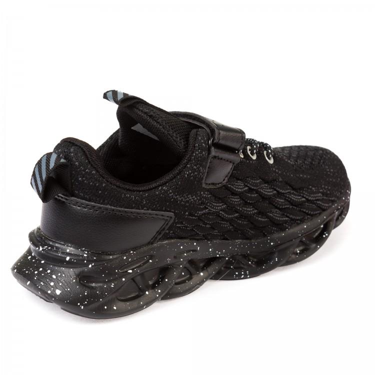 Кроссовки 2007 черные (31-37) KT