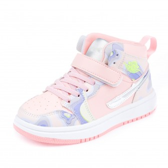 Ботинки д/с Fashion A206 розовые (31-36)