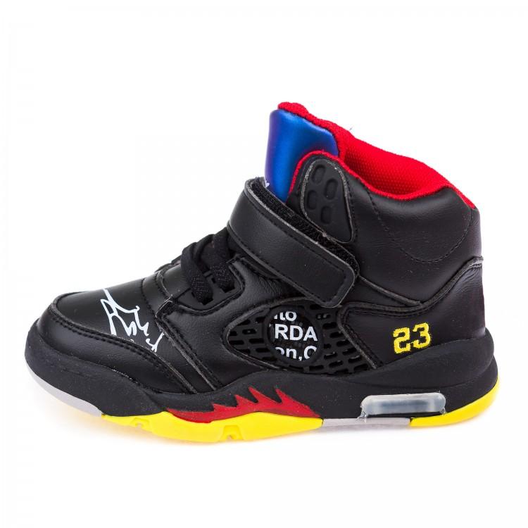 Ботинки д/с Fashion 802 черн.(26-30)