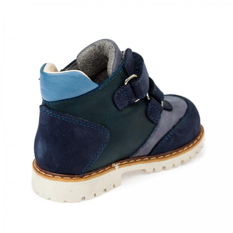 Ботинки д/с Panda 0011011(тем.синие) (18-20)