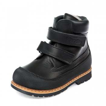 Ботинки зима Panda 200B чёрные