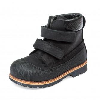Ботинки д/с Panda 200B черные(21-25)