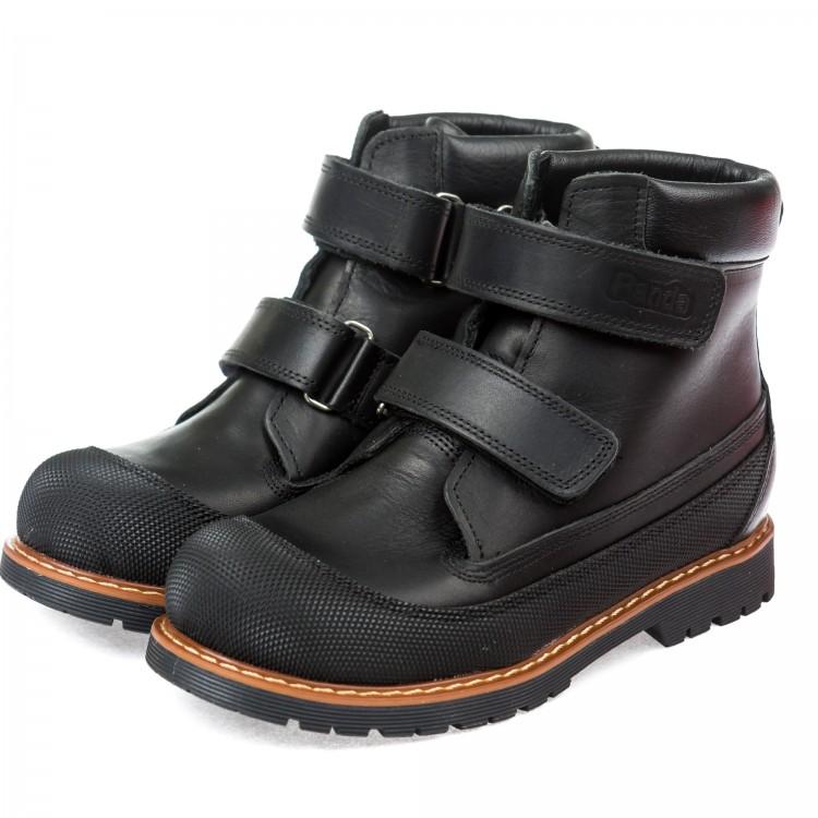 Ботинки зима Panda 200P чёрные