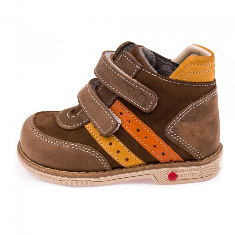 Ботинки д/с Panda 0011011коричневые
