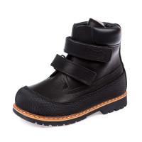 Ботинки зима Panda 200B чёрные (21-25)