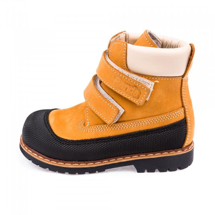Ботинки зима Panda 200B рыжие (21-25)