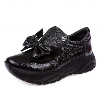 Туфли K.Pafi чёрные для девочки