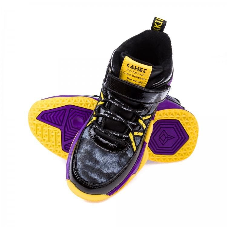 Ботинки д/с Fashion B2062 сирен/желт