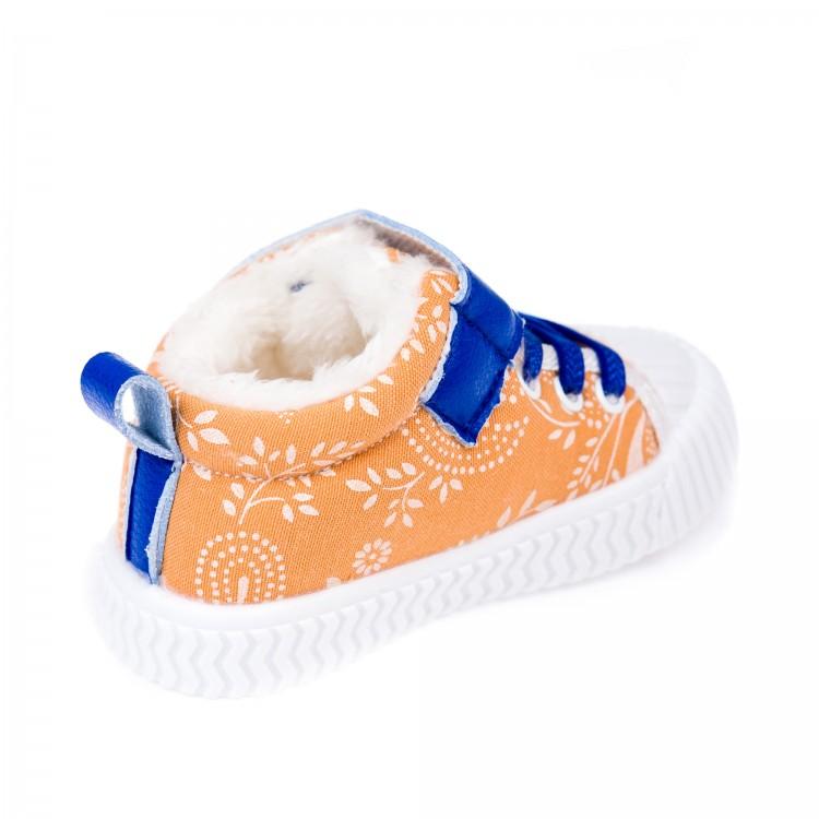 Пинетки зима Fashion 9915 оранж.