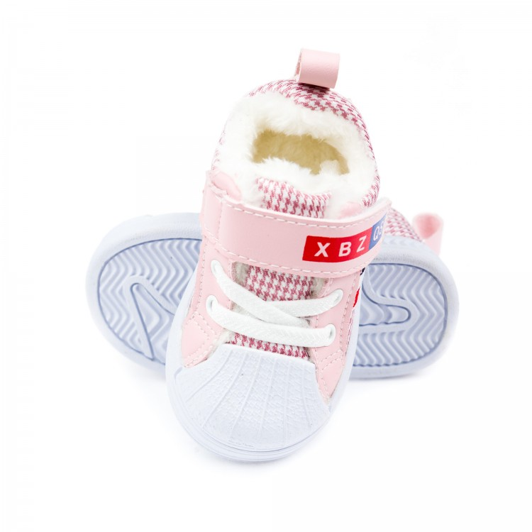 Пинетки зимние Fashion 9903 роз(15-19)