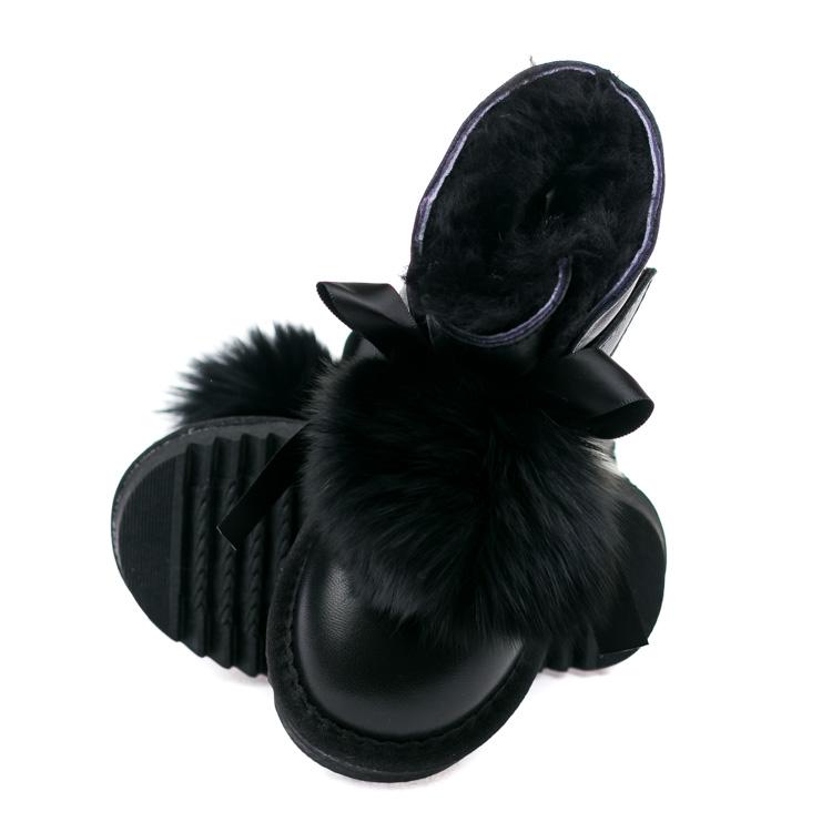 Угги Ramble B55 черные