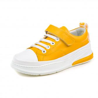 Кроссовки OCAK 105576-F(659-595) желт  (31-36)