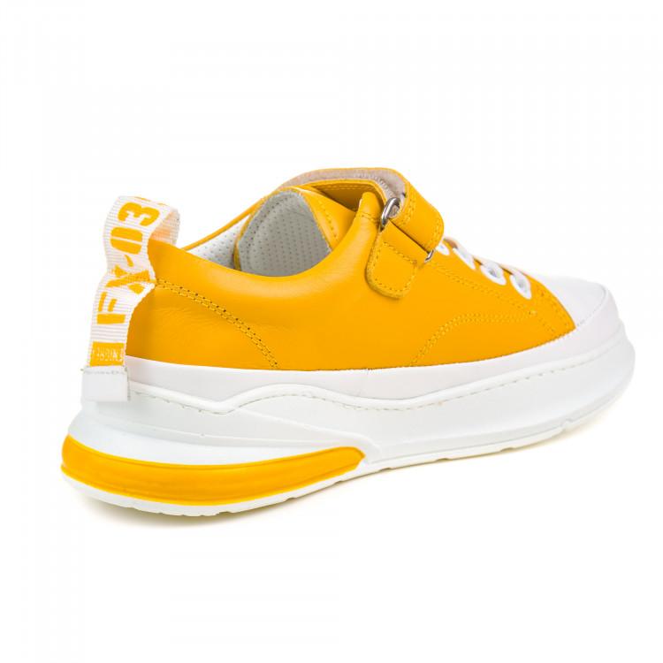 Кроссовки OCAK жёлтые для мальчика