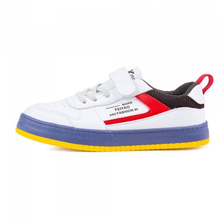Кроссовки Fashion белые для мальчика