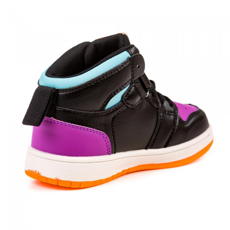 Кроссовки Fashion высокие G03BN1503 черн (26-30)
