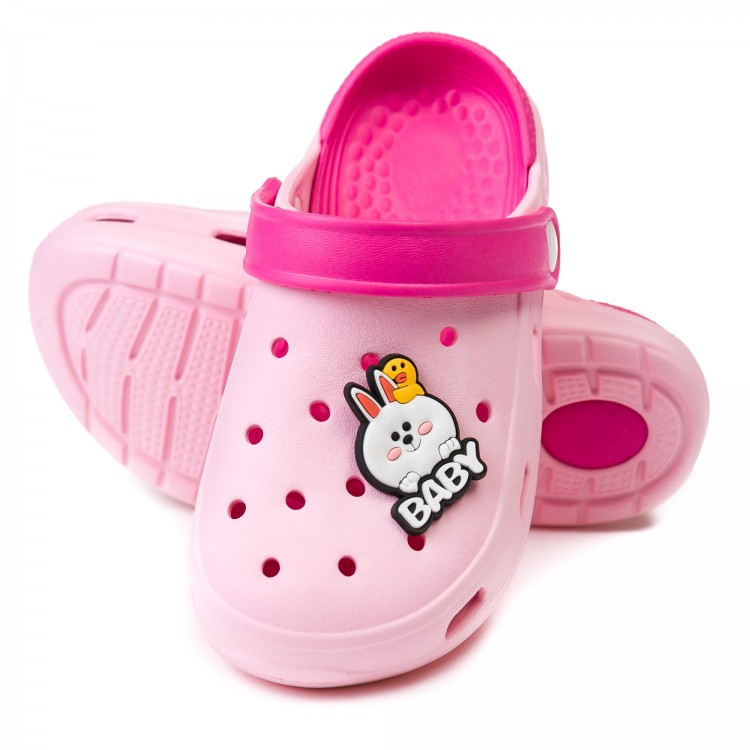 Сабо Fashion Baby розовый (14-22)