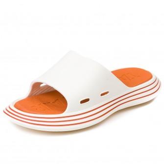 Шлёпки Fashion X9020-1 (белый/оранж) (35-40)