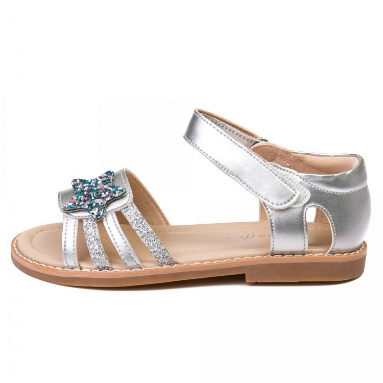 Босоножки Fashion 20759 серебро (26-30)