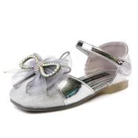 Босоножки Fashion 1112 серебро (26-30)