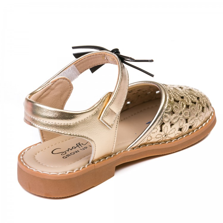 Босоножки Fashion 217215 золото (26-30)