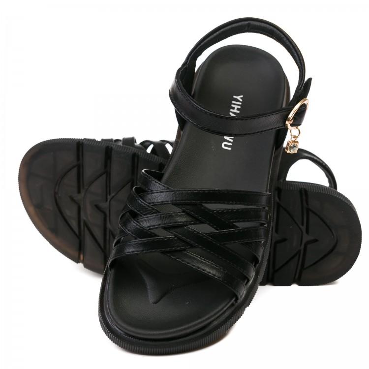 Босоножки Fashion V28635D черн (31-37)