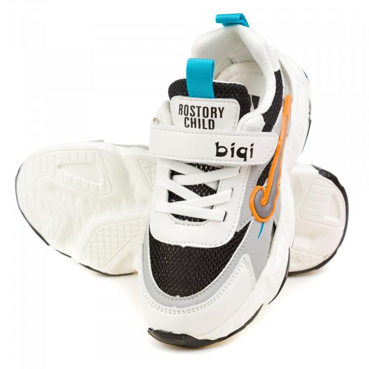 Кроссовки BiQi WASP серые для мальчика
