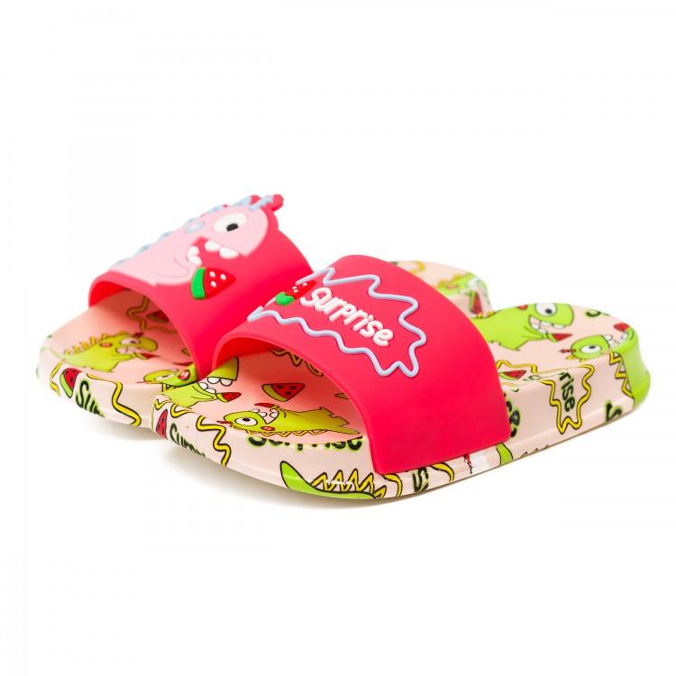 Шлёпки Fashion розовые