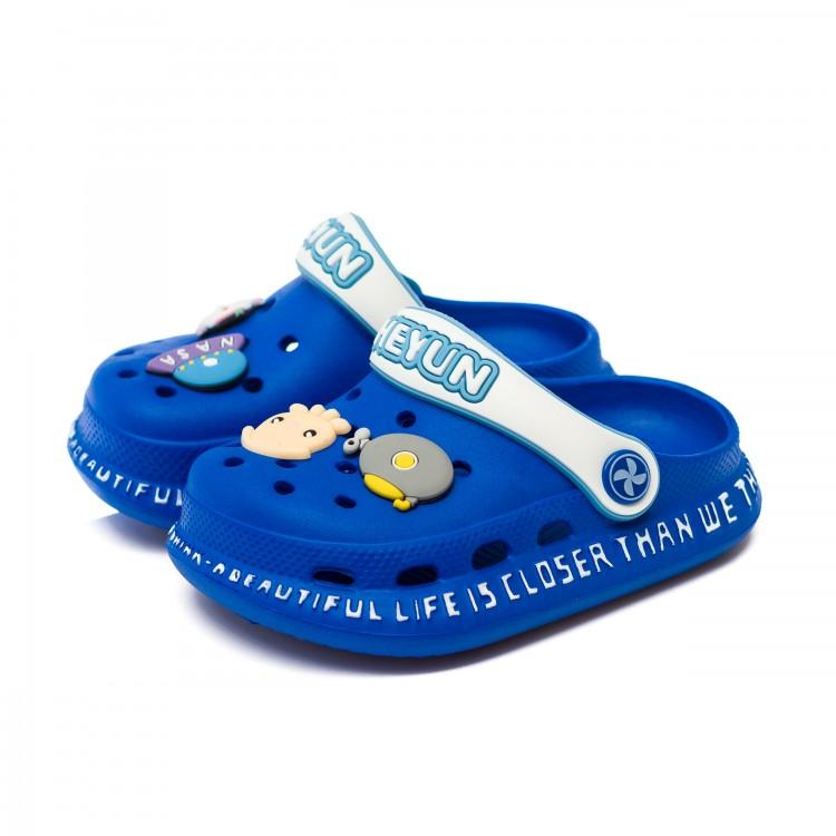 Шлёпки Fashion 1823D синий (14-18)