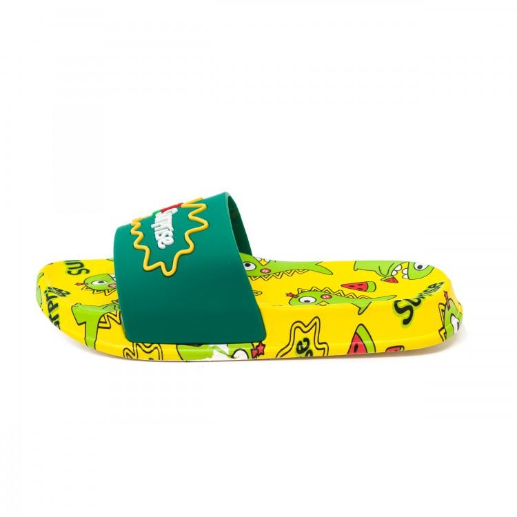 Шлёпки Fashion жёлтые
