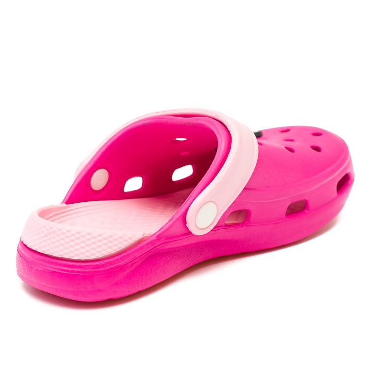 Шлёпки кроксы Fashion Baby малинов (19-22)