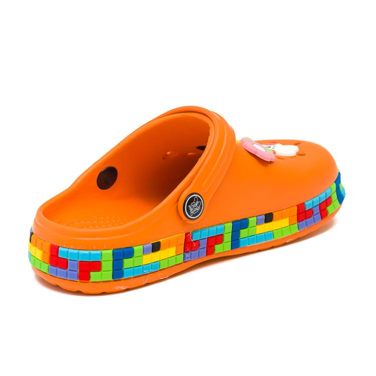 Шлёпки кроксы Fashion 6053 оранж (30-35)