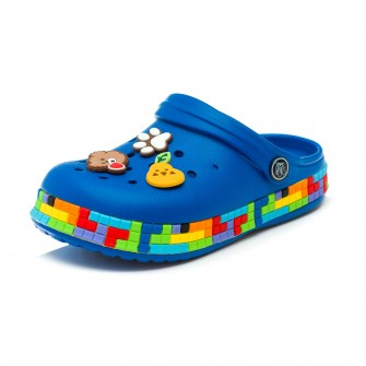 Шлёпки кроксы Fashion 6053 син (30-35)