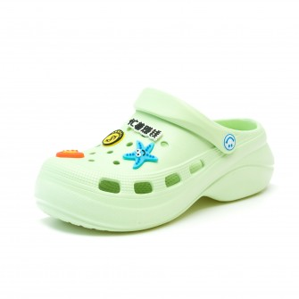 Шлёпки кроксы Fashion 8513 зелен (36-40)