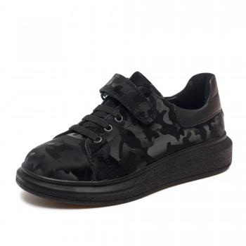 Туфли КалориЯ чёрные для девочки и для мальчика