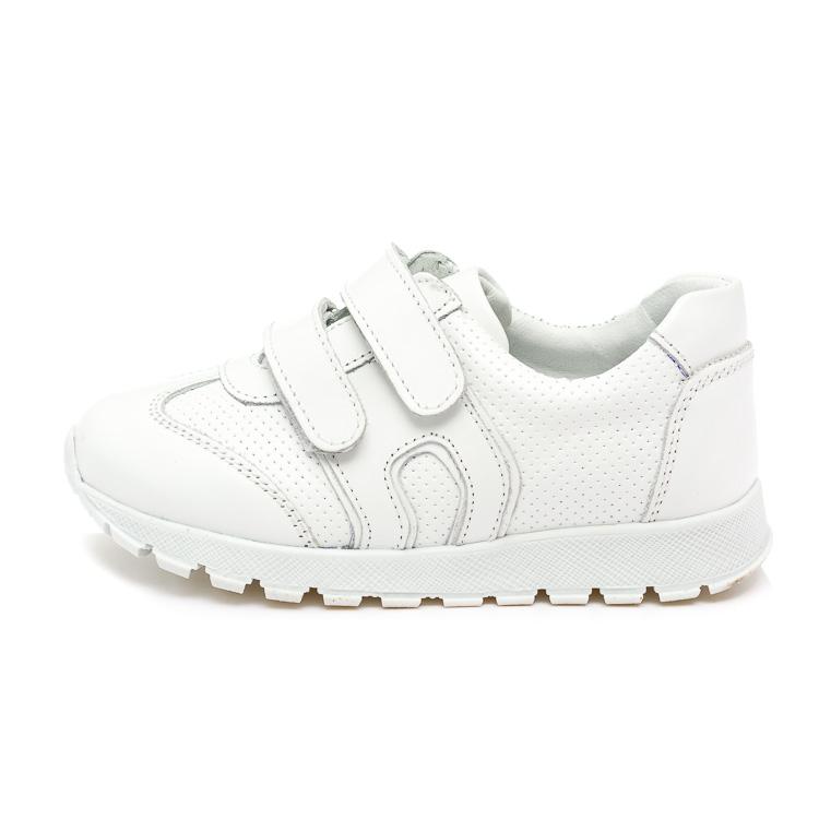 Кроссовки Sibel Bebe белые для девочки и для мальчика