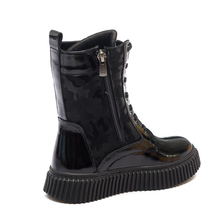 Ботинки д/с Panda 011.MRS1.F черн.лак (31-36)