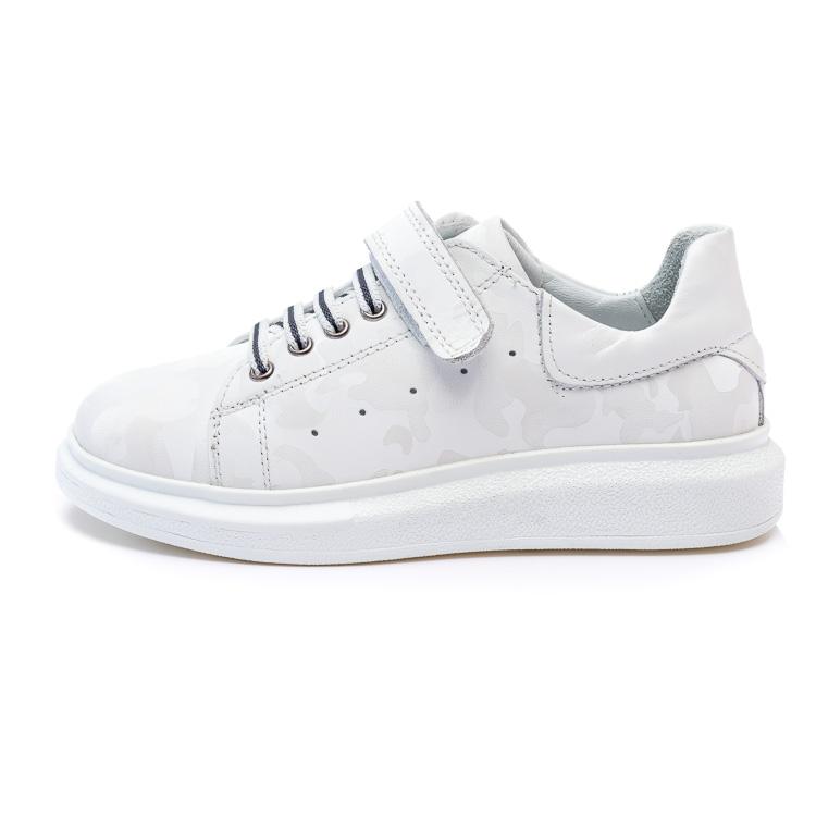 Туфли КалориЯ серые для мальчика