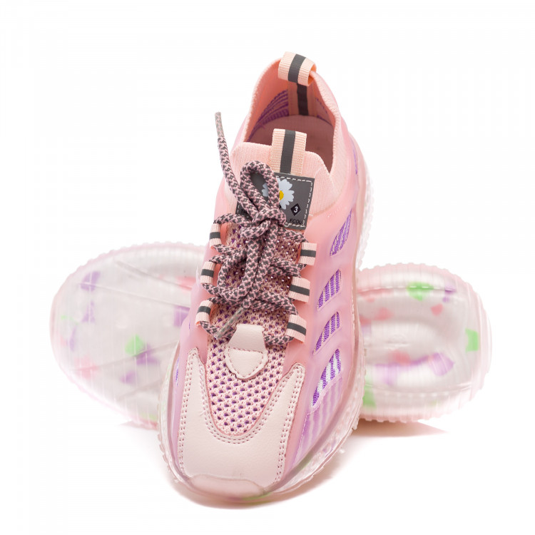 Кроссовки Fashion розовые для девочки